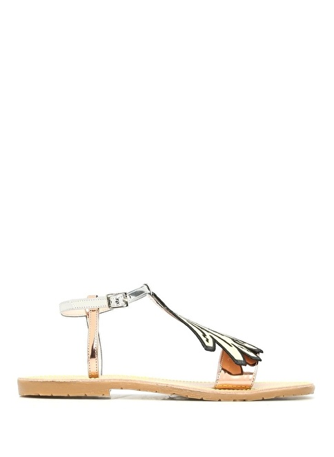 Leo Studio Design Sandalet Renkli